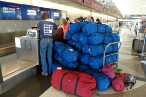 Bags at the airport
