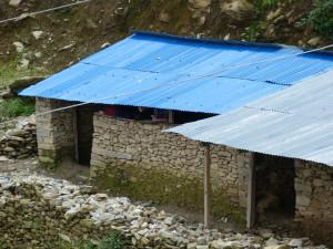 The old classroom in Kuri Nepal